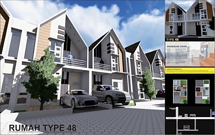 Rumah Type 48 Perumahan Assalam Residence Menganti Gresik KPR Syariah