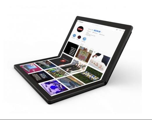 Laptop Terbaru dari Lenovo dengan Layar 13,3 Inci OLED yang Dapat Dilipat