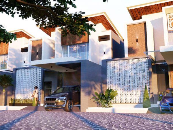 Rumah Baru Siap Bangun Design Modern di Adena First Cluster Kota Padang